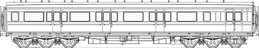 Scale drawing of D95A
